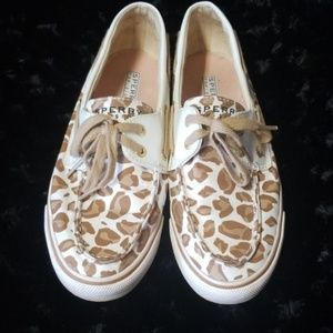 Sperry Top-Sider Animal print shoes size 7